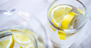 lemon water for skin